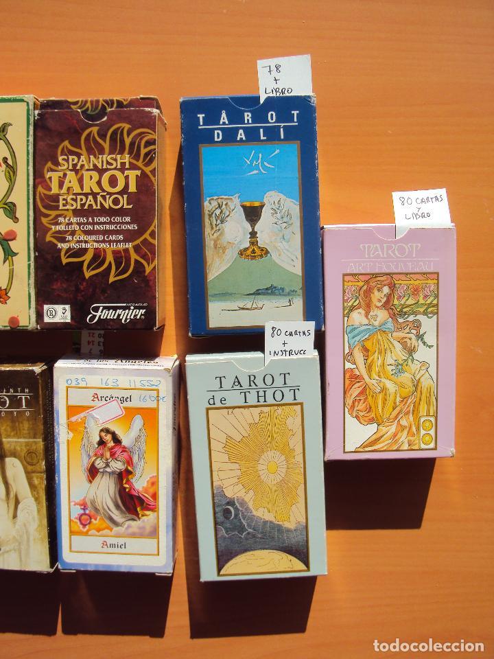 Barajas de cartas: LOTE TAROT - Foto 3 - 111794427
