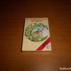 Barajas de cartas: FOURNIER CARTAS BARAJA INFANTIL LOS ANIMALES DEL BOSQUE DIBUJOS ANIMADOS DESPRECINTADA NUEVA ALMACEN. Lote 111879407