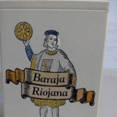 Barajas de cartas: BARAJA RIOJANA. Lote 111917191