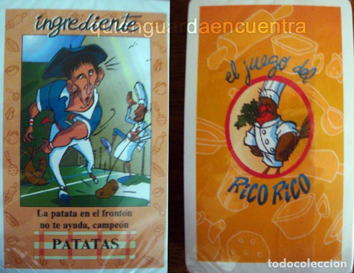 EL JUEGO DE CARTAS DE KARLOS ARGUIÑANO RICO-RICO BARAJA PRECINTADA (Juguetes y Juegos - Cartas y Naipes - Otras Barajas)