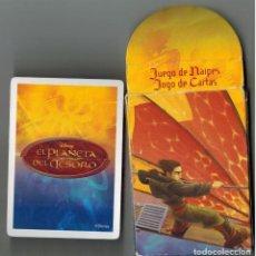 Mazzi di carte: CAJA CON BARAJA FOURNIER DISNEY EL PLANETA DEL TESORO. Lote 275895123