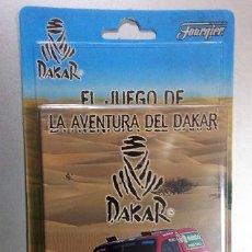 Barajas de cartas: EL JUEGO DE LA AVENTURA DEL DAKAR-FOURNIER 2 MAZOS BARAJAS DE 50 CARTAS-BLISTER A ESTRENAR-. Lote 211800760