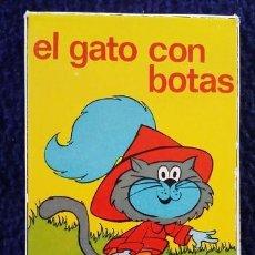 Barajas de cartas: NAIPES COMAS. EL GATO CON BOTAS, CARTAS INFANTILES AÑOS 80. Lote 112168627