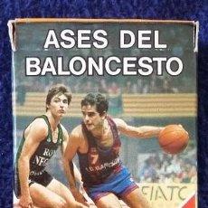 Barajas de cartas - Ases del Baloncesto, cartas Fournier Victoria año 1985 - 112169711