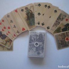 Barajas de cartas: LIBRERIA GHOTICA. BARAJA IMPERIAL. FRANCIA. SIGLO XIX. 1860. FACSIMIL.. Lote 112177955