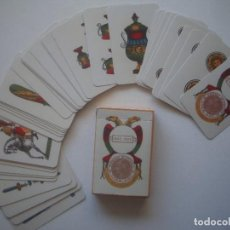 Barajas de cartas: LIBRERIA GHOTICA. BARAJA NAPOLITANA PIGNALOSA. ITALIA. SIGLO XIX. 1900. FACSIMIL.. Lote 112178119