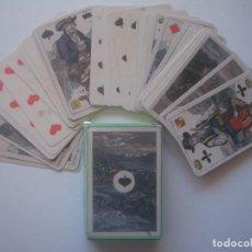 Barajas de cartas: LIBRERIA GHOTICA. BARAJA DE LOS CANTONES SUIZOS. SIGLO XIX. SUIZA. FACSIMIL.. Lote 112178543