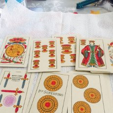 Barajas de cartas: ANTIGUA BARAJA NAIPES COMAS COMPLETA. Lote 112218667