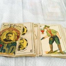Barajas de cartas: ANTIGUA BAJA DE CARTAS CINEMATOGRÁFICA CHOCOLATES JAIME BOIX COMPLETA. Lote 112219544