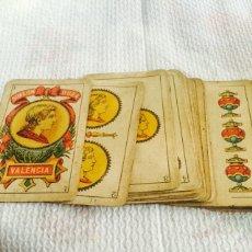 Antigua Baraja de cartas simeon dura Valencia completa