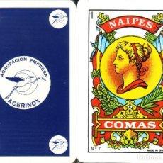 Barajas de cartas: ACERINOX BARAJA ESPAÑOLA 40 CARTAS. Lote 112229219