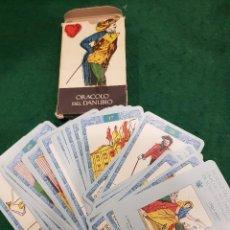 Barajas de cartas: BARAJA TAROT ORACOLO DEL DANUBIO. Lote 112260039