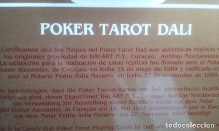 Barajas de cartas: baraja poker tarot exclusiva de Dali Gala blistada - Foto 7 - 112313719