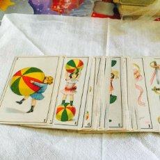 Barajas de cartas: RARA BARAJA INFANTIL CON EL REVERSO CON FUTBOLISTAS CHOCOLATES LA IMPERIAL. Lote 112313995