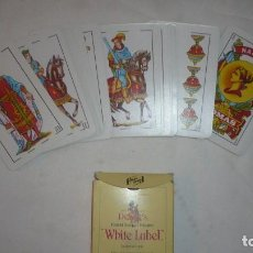 Barajas de cartas: BARAJA ESPAÑOLA WHITE LABEL. Lote 112369823
