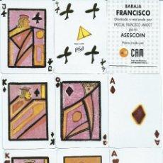 Barajas de cartas: BARAJA FRANCISCO DE ASESCOIN-AÑO 1993. Lote 112372803