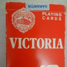 Barajas de cartas: BARAJA DE CARTAS DE POKER VICTORIA 18 FOURNIER. Lote 112405803