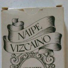 Barajas de cartas: BARAJA DE CARTAS NAIPE VIZCAINO. CAJA DE AHORROS VIZCAINA. Lote 112417583