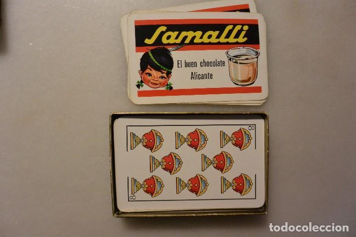 Barajas de cartas: BARAJA DE CARTAS PUBLICIDAD CHOCOLATES SAMALLI - Foto 3 - 112450899
