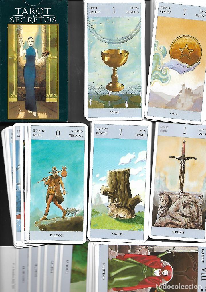 BARAJA DE TAROT SECRETOS COMPLETA EN SU CAJA ESTADO PERFECTO (Juguetes y Juegos - Cartas y Naipes - Barajas Tarot)