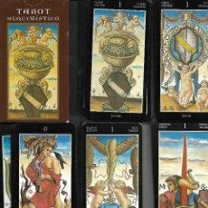 Barajas de cartas: BARAJA DE TAROT ALQUIMISTICO COMPLETA EN SU CAJA ESTADO PERFECTO. Lote 112455899