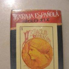 Barajas de cartas: BARAJA CARTAS ESPAÑOLA SIGLO XIX. REPRODUCCION 1ª BARAJA DE FOURNIER. Lote 112452135
