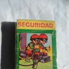 Barajas de cartas: BARAJA CARTAS SEGURIDAD . Lote 112525251