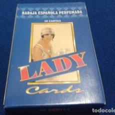 Barajas de cartas: FOURNIER BARAJA, NAIPES, CARTAS ( LADY ) 50 CARTAS NUEVO. Lote 112565415