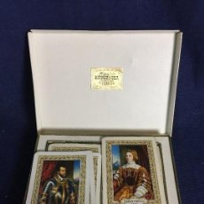 Barajas de cartas: JUEGO CARTAS NAIPES POKER H FOURNIER VITORIA ESPAÑA CONMEMORACION IV CENTENARIO CARLOS I 1558 1998. Lote 112613819