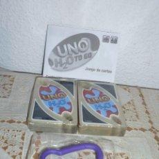 Barajas de cartas: EL FAMOSO JUEGO DE CARTAS UNO H2O TO GO DE MATTEL- AHORA EN VERSION PORTATIL-NUEVO. Lote 112618587