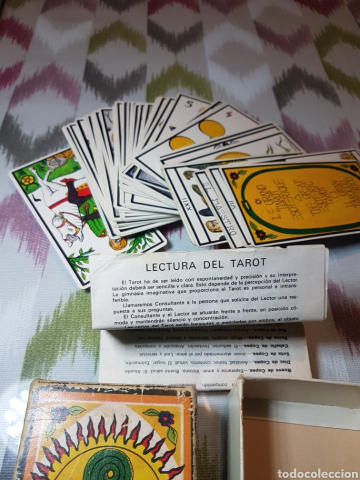 Barajas de cartas: Baraja de cartas, El gran tarot esoterico, impresa en 1978 y con libro de instrucciones. - Foto 2 - 118708699