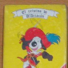 Barajas de cartas: D`ARTACÁN EL RETORNO BARAJA INFANTIL NUEVA FOURNIER DIBUJOS ANIMADOS DE LA SERIE. Lote 112654491