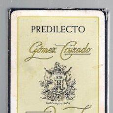 Barajas de cartas: -69499 BARAJA VINOS GOMEZ CRUZADO, ESPAÑOLA, 40 CARTAS, SIN DESPRECINTAR. Lote 112782479