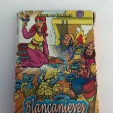 Barajas de cartas: BARAJA CARTAS BLANCANIEVES JUEGO PAREJAS. Lote 112788559