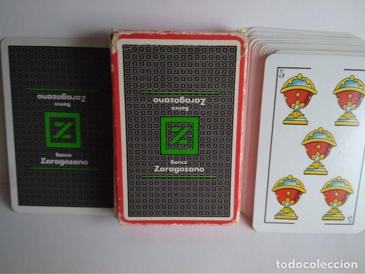 Barajas de cartas: Naipe español Heraclio Fournier 40 cartas publicidad B.Zaragozano - Foto 2 - 112790935