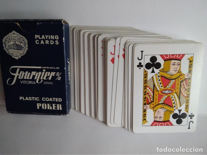 BARAJA POKER FOURNIER PUBLICIDAD GRUPO AZUR (Juguetes y Juegos - Cartas y Naipes - Barajas de Póker)