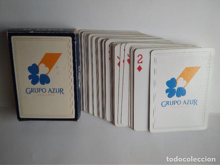 Barajas de cartas: Baraja poker Fournier publicidad Grupo Azur - Foto 2 - 112791727