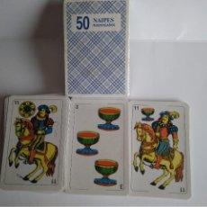 Barajas de cartas: BARAJA ESPAÑOLA 50 NAIPES PUBLICIDAD MISTER CHARLY. Lote 112792019