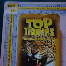Barajas de cartas: BARAJA INFANTIL TOP TRUMPS. FAUNA ANIMALES. VIDA SALVAJE. Lote 112826631