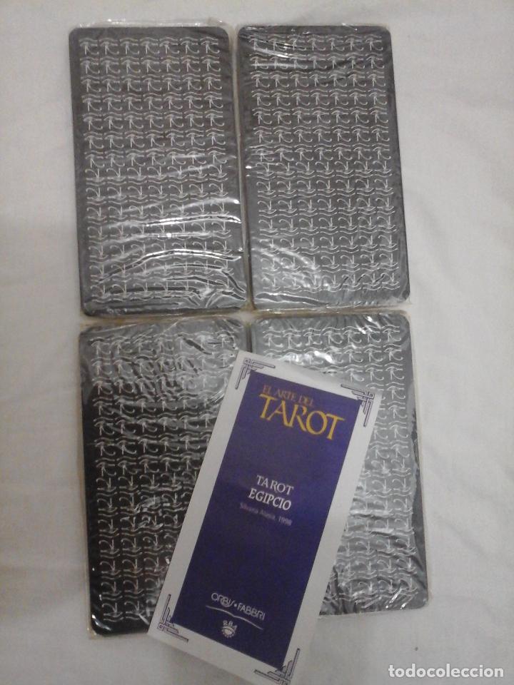 Barajas de cartas: BARAJA DE CARTAS DE TAROT EGIPCIO - NUEVO PRECINTADO Y CON INSTRUCCIONES - - Foto 5 - 146862430