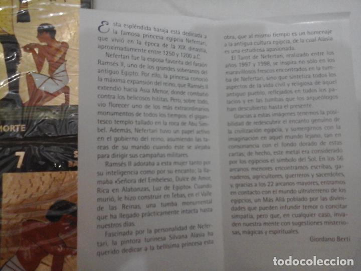 Barajas de cartas: BARAJA DE CARTAS DE TAROT EGIPCIO - NUEVO PRECINTADO Y CON INSTRUCCIONES - - Foto 6 - 146862430