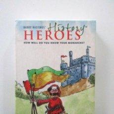 Barajas de cartas: BARAJA HÉROES DE LA HISTORIA (MIL AÑOS DE MONARQUÍA BRITÁNICA) 6 JUEGOS, VER FOTOS. Lote 112836787