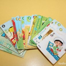 Barajas de cartas: ANTIGUA BARAJA INFANTIL - EL JUEGO DE LAS RAZAS -EDICIONES RECREATIVAS - AÑOS 70. Lote 112866795