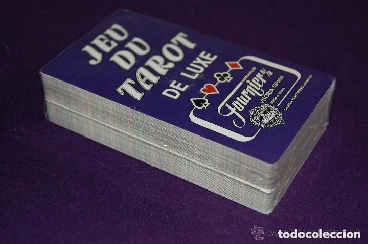 Barajas de cartas: BARAJA TAROT FOURNIER. JEU DU TAROT. PRECINTADO. COMPLETO. CAJA ORIGINAL Y FOLLETO. - Foto 6 - 112885923