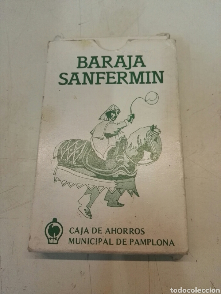 BARAJA SANFERMIN (Juguetes y Juegos - Cartas y Naipes - Otras Barajas)