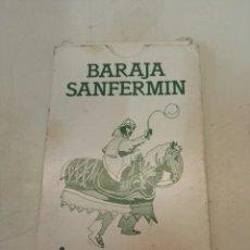 Barajas de cartas: BARAJA SANFERMIN. Lote 112900376