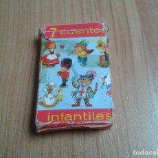 Barajas de cartas: NAIPES DE FOURNIER - 7 CUENTOS INFANTILES, 1971 - COMPLETO ( 42 UNID. ) - BARAJA INFANTIL - CARTAS . Lote 144422937