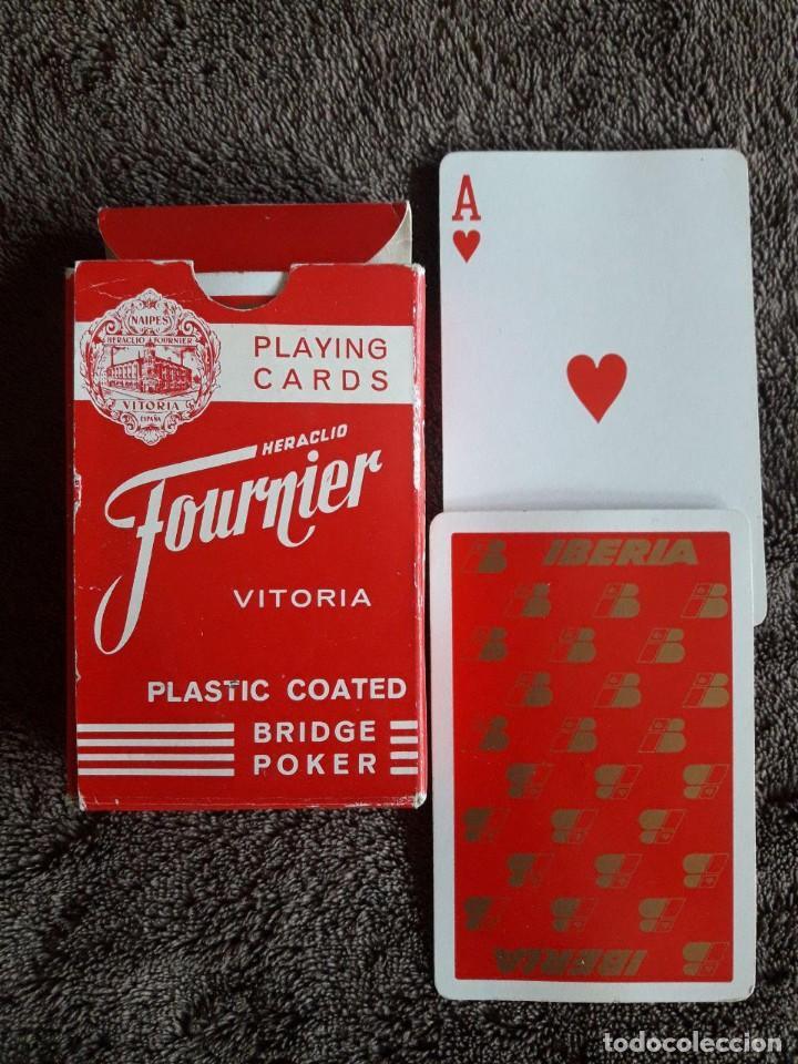 BARAJA DE CARTAS FOURNIER / BRIDGE POKER / VITORIA / PLASTIC COATED (Juguetes y Juegos - Cartas y Naipes - Otras Barajas)