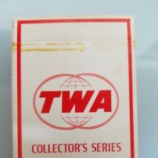 Barajas de cartas: ANTIGUA BARAJA DE CARTAS TWA COMPLETA. Lote 113022903