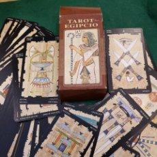 Barajas de cartas: BARAJA TAROT EGIPCIO. Lote 113469675